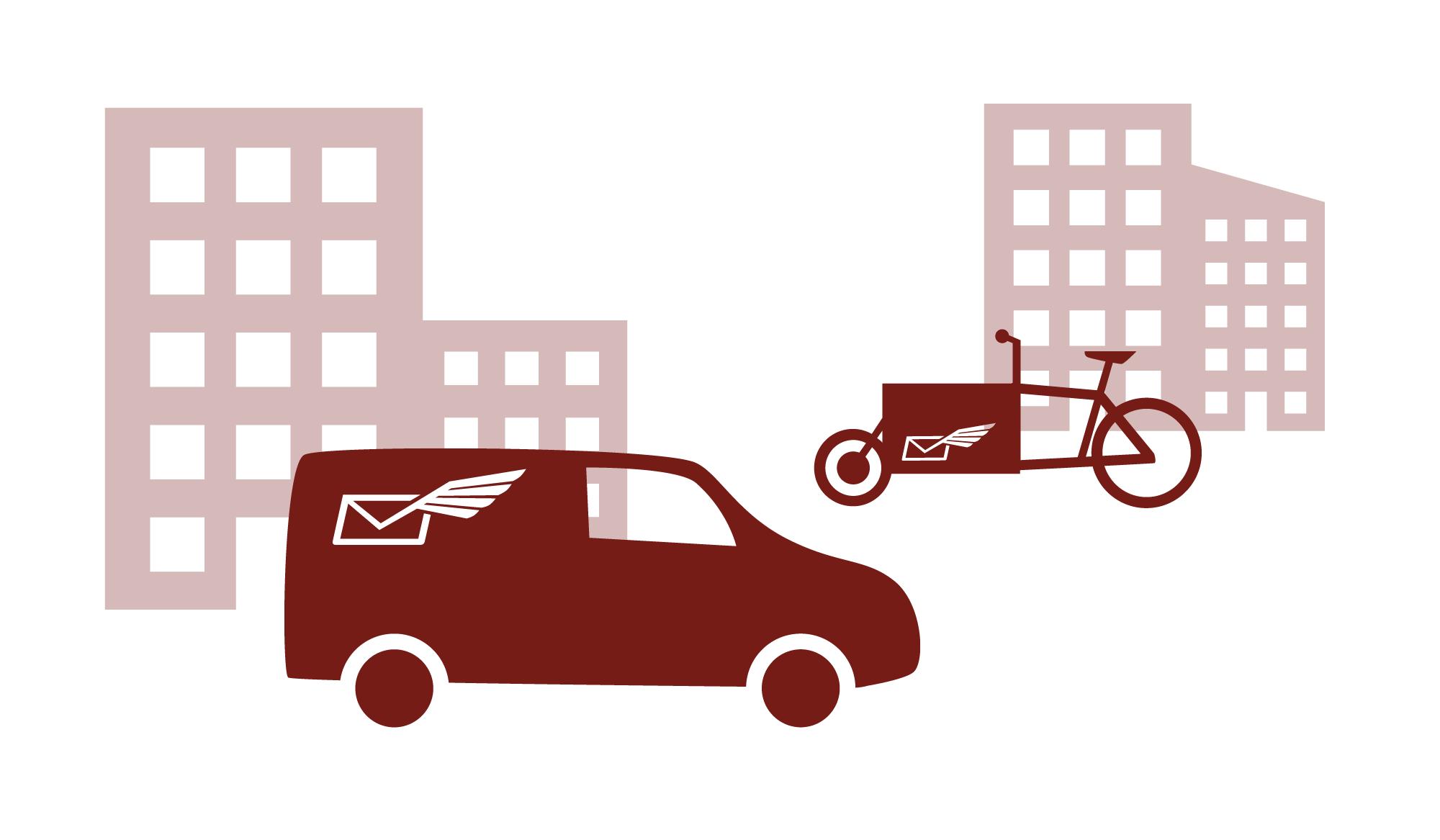 Abholservice und Bringservice von Urbanmail